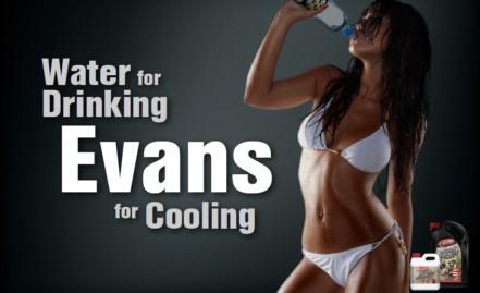 Bezwodne wyczynowe płyny chłodnicze Evans